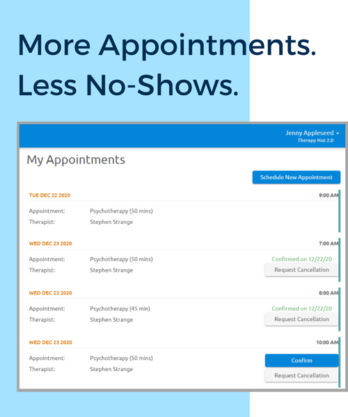 Copy of My Appointments CP