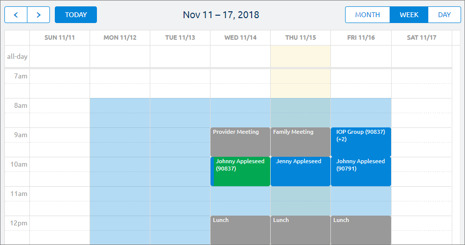 Scheduling & Reminders