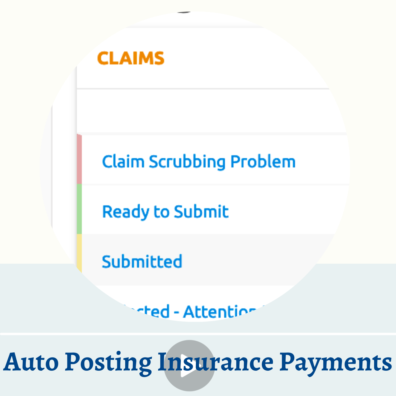 Auto Posting Insurance Payments