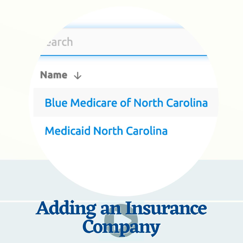Add Insurance Information