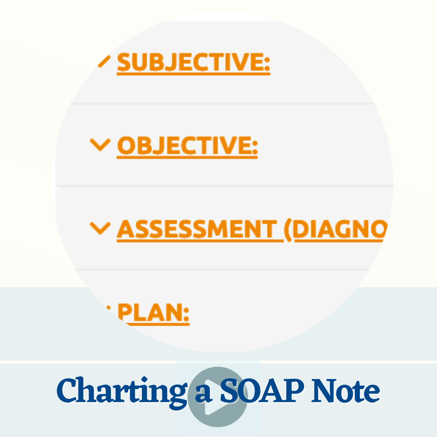 Charting SOAP Note