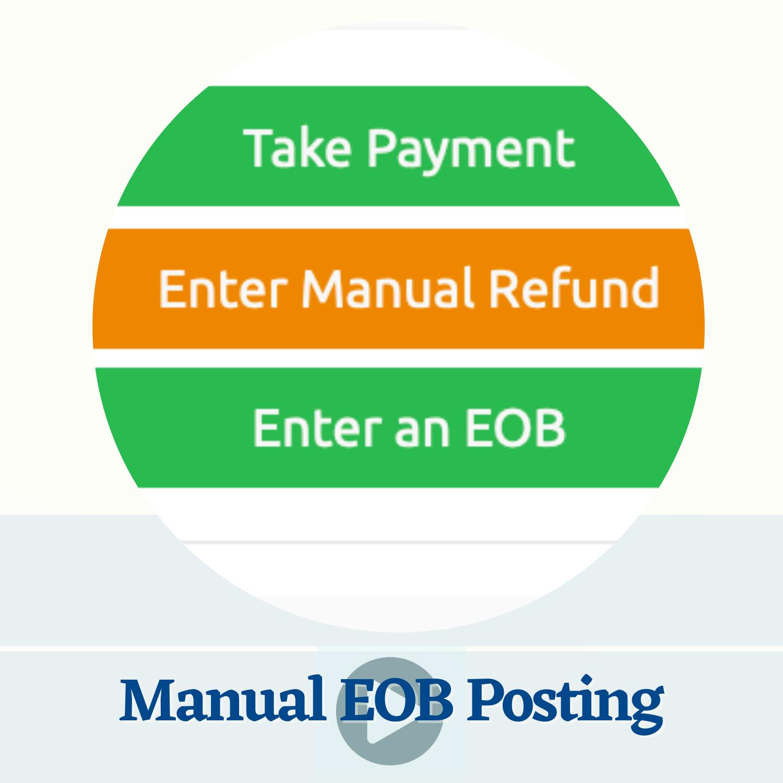 Manual EOB Posting