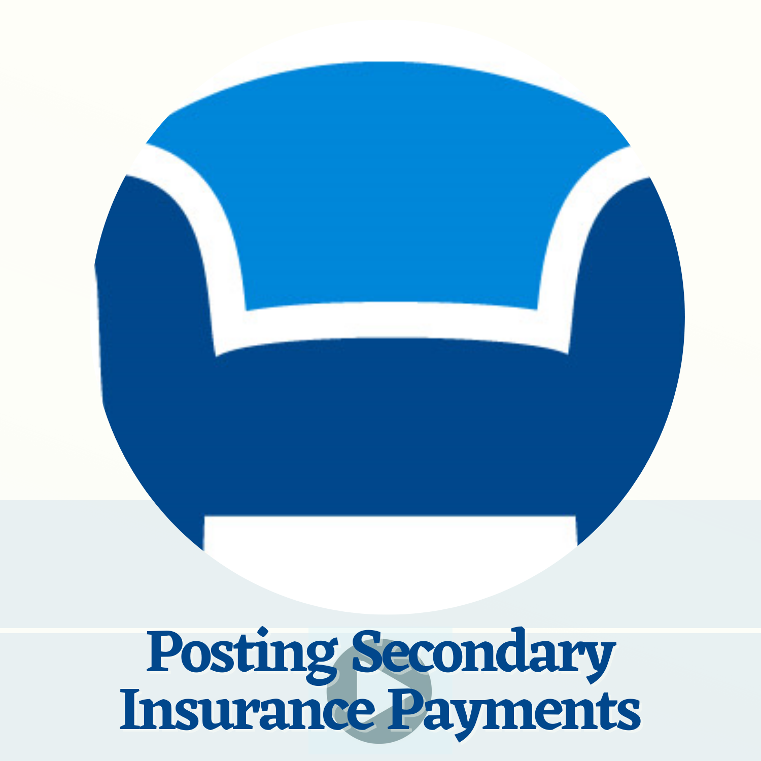 Posting Secondary Insurance Payments